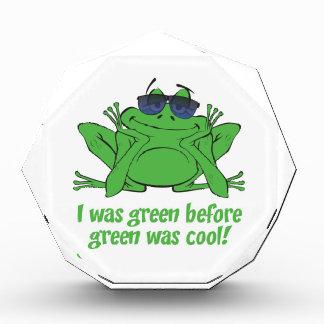 I was Green Acrylic Award