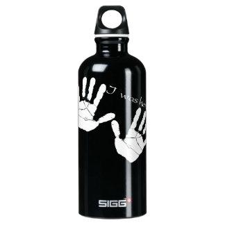 I was here handprint SIGG traveler 0.6L water bottle