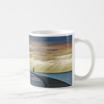 I was in Barcelona: Dawn in the Olympic Port Coffee Mug