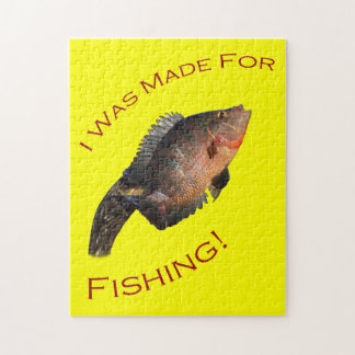 I Was Made for Fishing Puzzle
