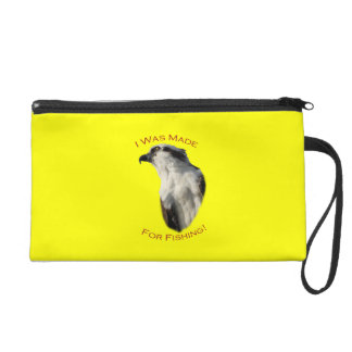 I Was Made For Fishing Wristlet