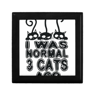 I was normal  cats ago jewelry box