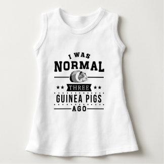 I Was Normal Three Guinea Pigs Ago Dress