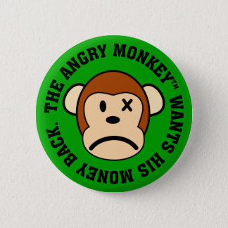 I was ripped off and want my money back pinback button