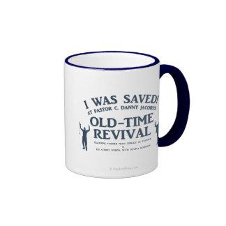 I Was Saved! Ringer Coffee Mug