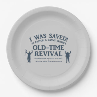 I Was Saved! Paper Plate