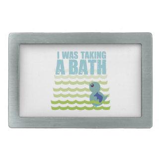 I Was Taking A Bath Belt Buckle