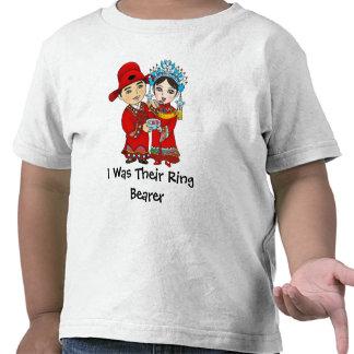 I was Their Ring Bearer... Toddler Tshirt: White