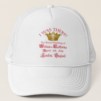 I Was There at the Royal Wedding Tshirts Trucker Hat