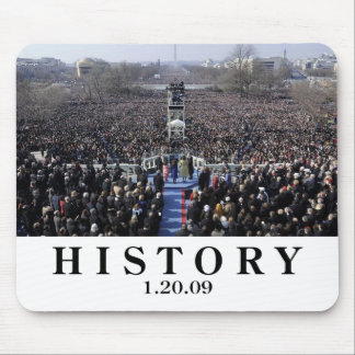 I WAS THERE: Crowd at Inauguration Ceremony Mouse Pad