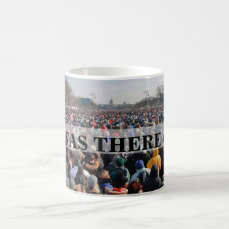 I WAS THERE: Crowd at President Obama Inauguration Classic White Coffee Mug