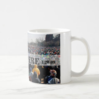 I WAS THERE: Crowd at President Obama Inauguration Mugs