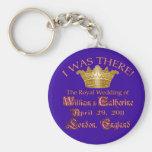 I Was There  Royal Wedding Memorabilia Basic Round Button Keychain