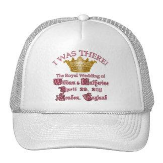 I Was There  Royal Wedding Memorabilia Hat