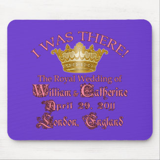 I Was There  Royal Wedding Memorabilia Mouse Pad