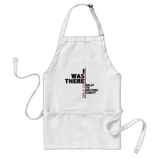 I was there sanity rally adult apron