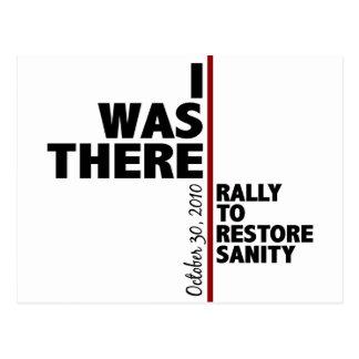 I was there sanity rally postcard