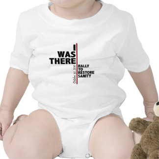 I was there sanity rally baby bodysuit