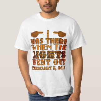 I Was There When the Lights Went Out NOLA T-Shirt