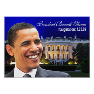I Was There (white house) Poster