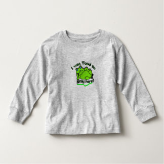 I was toad toddler t-shirt