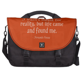 I Wasn t Meant For Reality Commuter Bag