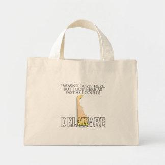 I wasn't born here...Delaware Tote Bag