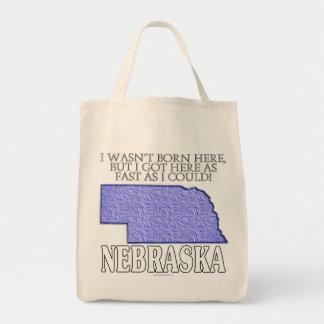 I wasn't born here...Nebraska Bag