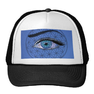 I watch and see trucker hat
