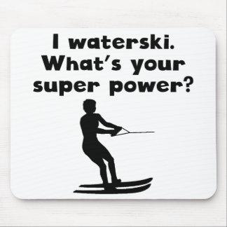 I Waterski Super Power Mousepad