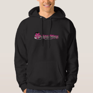 I wear a different kind of uniform(military wife) hoodie