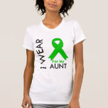 I Wear a Green Ribbon For My Aunt T-shirt