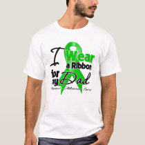 I Wear a Green Ribbon For My Dad T-Shirt
