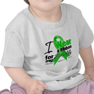I Wear a Green Ribbon For My Daddy Tshirts