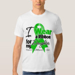 I Wear a Green Ribbon For My Daughter Shirts