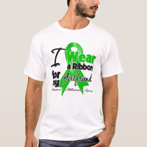 I Wear a Green Ribbon For My Girlfriend T-Shirt
