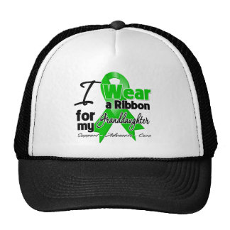 I Wear a Green Ribbon For My Granddaughter Trucker Hat