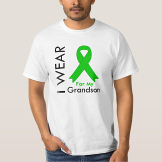 I Wear a Green Ribbon For My Grandson T-Shirt