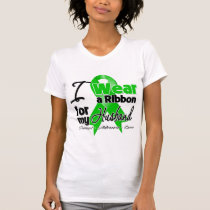 I Wear a Green Ribbon For My Husband T-Shirt