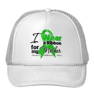 I Wear a Green Ribbon For My Mother Trucker Hat