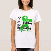 I Wear a Green Ribbon For My Sister T-Shirt