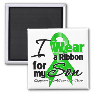 I Wear a Green Ribbon For My Son Magnet