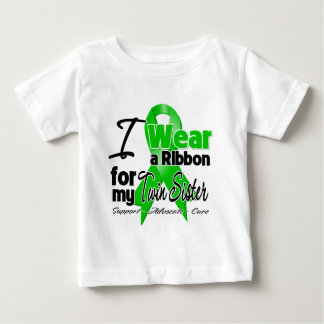 I Wear a Green Ribbon For My Twin Sister Tshirt