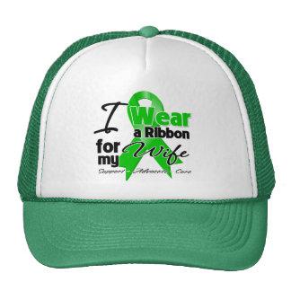 I Wear a Green Ribbon For My Wife Trucker Hat