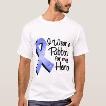 I Wear a Periwinkle Ribbon For My Hero T-Shirt