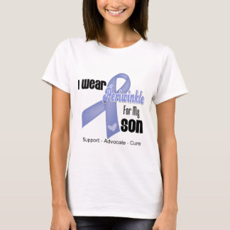 I Wear a Periwinkle Ribbon For My Son T-Shirt