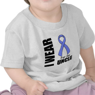 I Wear a Periwinkle Ribbon For My Uncle T-shirts
