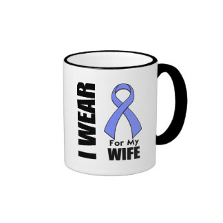 I Wear a Periwinkle Ribbon For My Wife Coffee Mug