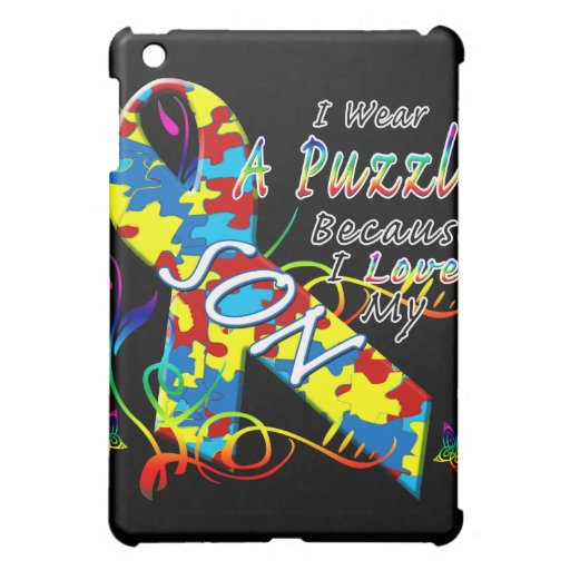 I Wear A Puzzle Because I Love My Son iPad Mini Case