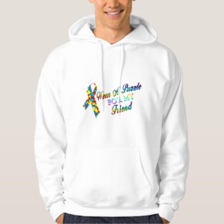 I Wear A Puzzle for my Friend Hoodie